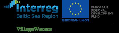 VillageWaters project, Interreg BSR logos and EU flag